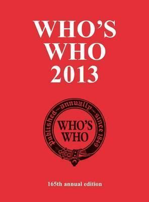 Whos Who 2013  by  Yearbooks