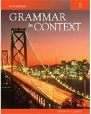 Grammar In Context 1 (Bk. 1)  by  Sandra N. Elbaum