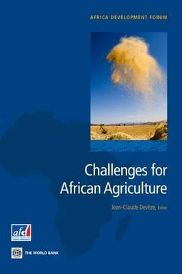 Challenges for African Agriculture Jean-Claude Deveze