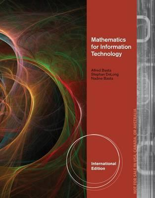 Math for Information Technology Alfred Basta