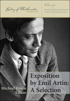 Exposition Emil Artin: A Selection by Michael   Rosen