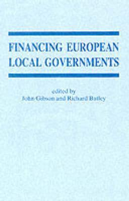 Financing European Local Government  by  John Gibson