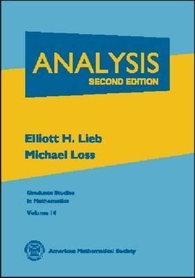 Analysis  by  Elliott H. Lieb
