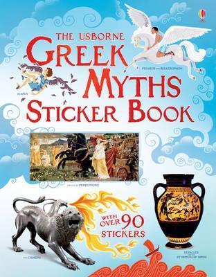 Greek Myths Sticker Book  by  Rosie Dickins