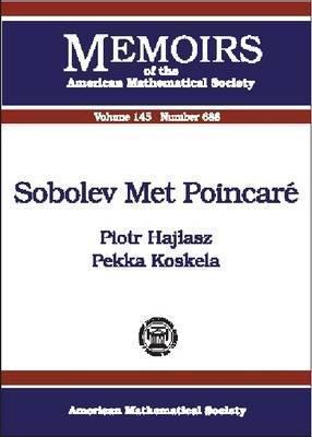 Sobolev Met Poincare Piotr Hajasz