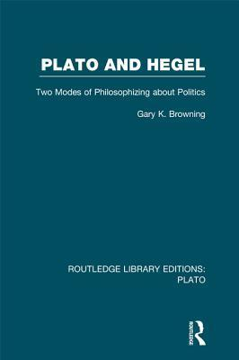 Plato and Hegel: Two Modes of Philosophizing about Politics  by  Gary K. Browning