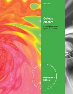 College Algebra. Jeffrey D. Hughes