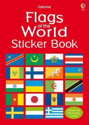 Flags Of The World Sticker Book Lisa Miles