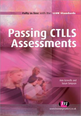Passing Ctlls Assessments  by  Gravells