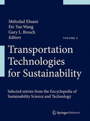 Transportation Technologies for Sustainability Mehrdad Ehsani