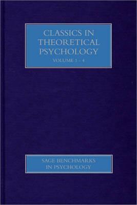 Theoretical Psychology - Classic Readings  by  Henderikus J. Stam