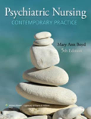 Boyd Text 5e, Hanbook for Psych Nursing and Care Planning & Prepu (12 Month) Package  by  Lippincott Williams & Wilkins