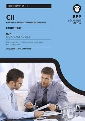 CII Mortgage Advice: Study Text BPP Learning Media