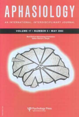 32nd Annual Clinical Aphasiology Conference: A Special Issue of Aphasiology  by  Patrick J. Doyle