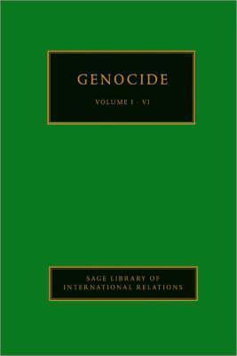 Genocide (4 Volume set)  by  Adam  Jones