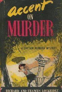 Accent on Murder  by  Richard Lockridge