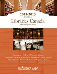 Libraries Canada, 2012 Tannys Williams