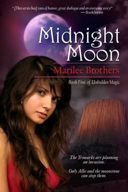 Midnight Moon (Unbidden Magic, #5) Marilee Brothers