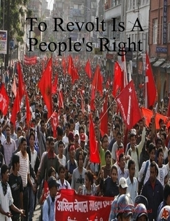 To Revolt Is a Peoples Right Andrew James Pritchard