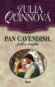 Pan Cavendish, jestli se nemýlím  by  Julia Quinn