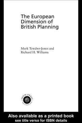 The Planning Imagination: Peter Hall and the Study of Urban and Regional Planning Mark Tewdwr-Jones