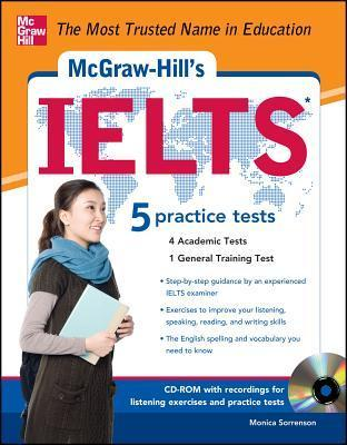 McGraw-Hills IELTS [With CDROM]  by  Monica Sorrenson