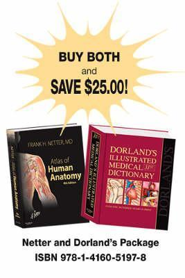 Netter Atlas of Human Anatomy and Dorlands Illustrated Medical Dictionary Package  by  Frank H. Netter