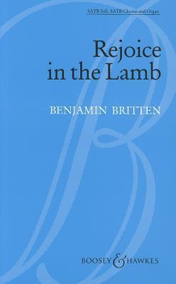Rejoice in the Lamb, Opus 30 Benjamin Britten