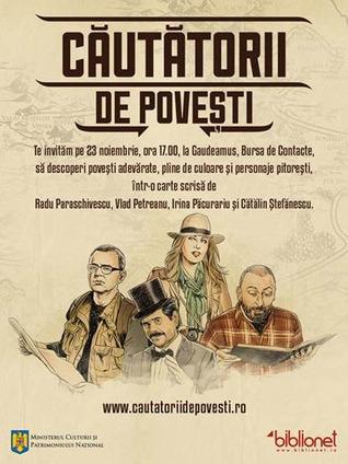 Căutătorii de poveşti  by  Radu Paraschivescu