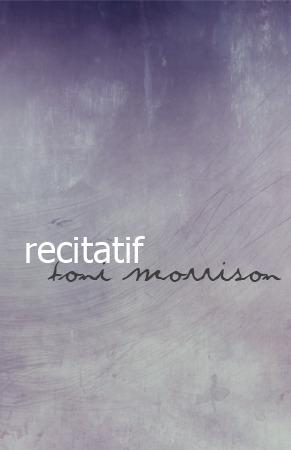 Recitatif  by  Toni Morrison