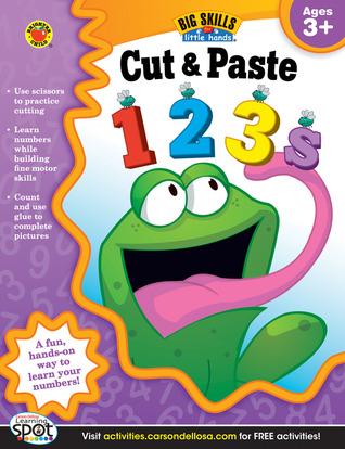 Cut & Paste 123s Workbook, Grades Preschool - K  by  Brighter Child