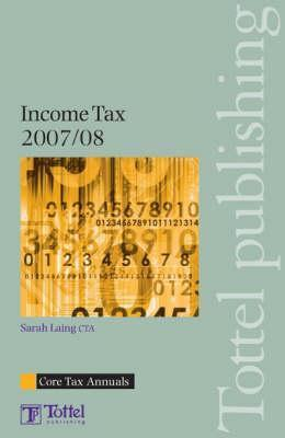 Income Tax 2007-08 Sarah  Laing