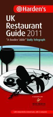 Hardens UK Restaurant Guide 2011  by  Richard Harden