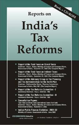 Reports on Indias Tax Reforms Vijay L. Kelkar