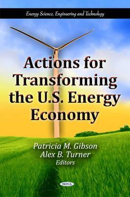 Actions for Transforming the U.S. Energy Economy Patricia M. Gibson