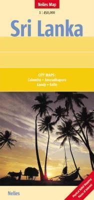 Sri Lanka Map By Nelles Nelles Verlag