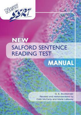 New Salford Sentence Reading Test: Specimen Set Colin McCarty