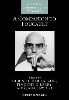A Companion to Foucault  by  Christopher Falzon
