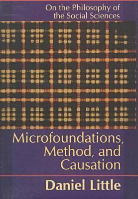 Microfoundations, Methods, and Causation: On the Philosophy of the Social Sciences  by  Daniel Little