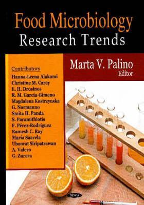 Food Microbiology Research Trends Lyndal S. Whitnall