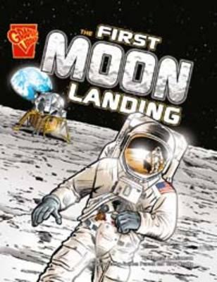 First Moon Landing  by  Thomas K. Adamson