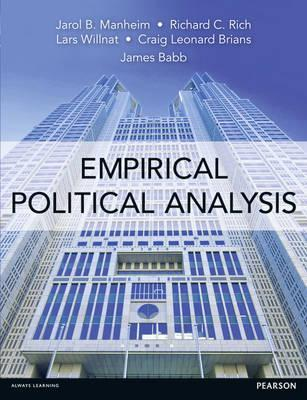 Empirical Political Analysis: An Introduction to Research Methods.  by  James Babb