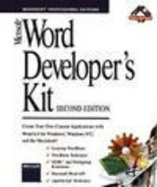 Microsoft Word Developers Kit Microsoft Corporation
