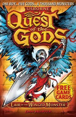 Lair of the Winged Monster (Quest of the Gods, #4)  by  Dan Hunter
