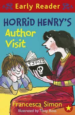horrid henrys author visit  by  Francesca Simon