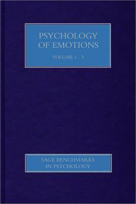 Psychology Of Emotions (Sage Benchmarks In Psychology Series) Antony S.R. Manstead