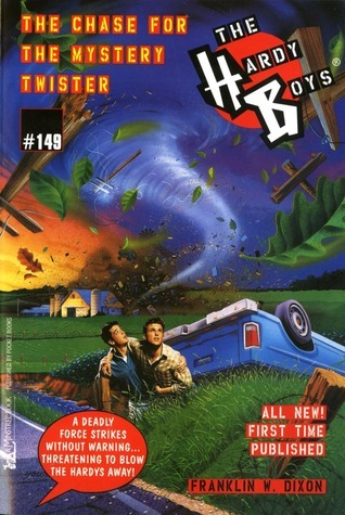 The Chase for the Mystery Twister  by  Franklin W. Dixon