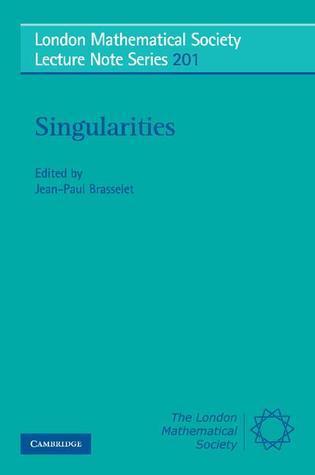 Singularities  by  Jean-Paul Brasselet