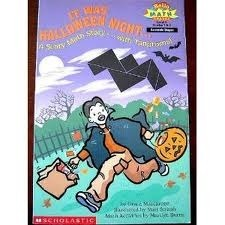 It Was Halloween Night: A Scary Math Story-- With Tangrams! Grace Maccarone