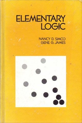 Elementary logic  by  Nancy D. Simco